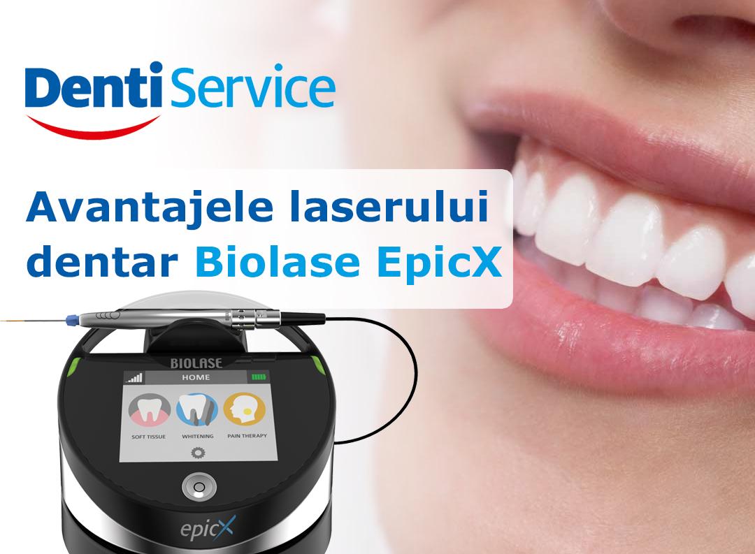 Avantajele tratamentelor cu laser dentar Biolase EpicX